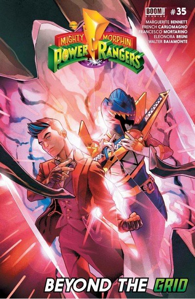 Mighty Morphin Power Rangers #35 (2019)