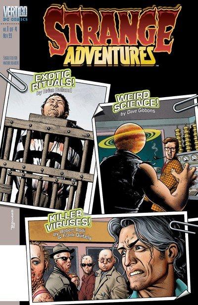 Strange Adventures #1 – 4 (1999-2000)