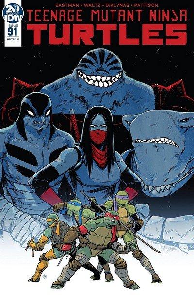 Teenage Mutant Ninja Turtles #91 (2019)