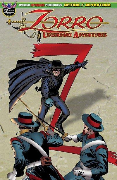Zorro – Legendary Adventures #3 (2019)