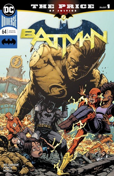 Batman-The Flash – The Price (Story Arc) (2019)