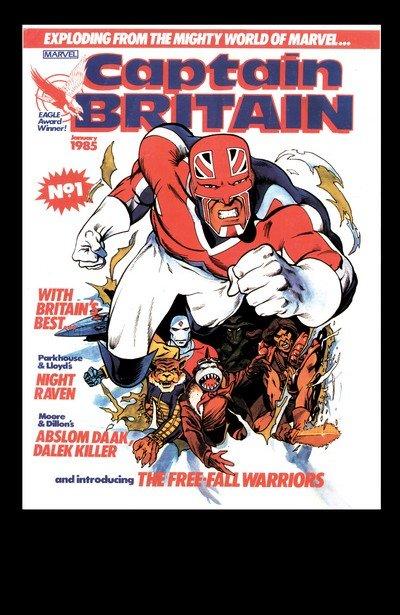 Captain Britain Vol. 2 #1 – 14 (1985-1986)