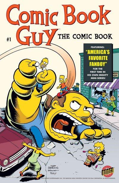 Comic Book Guy – The Comic Book #1 – 5 (2010)