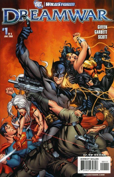 DC-Wildstorm – Dreamwar #1 – 6 (2008)