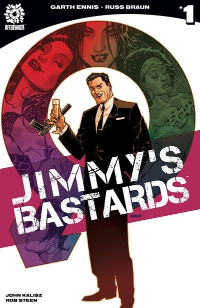 Jimmy's Bastards #1 – 9 (2017-2019)