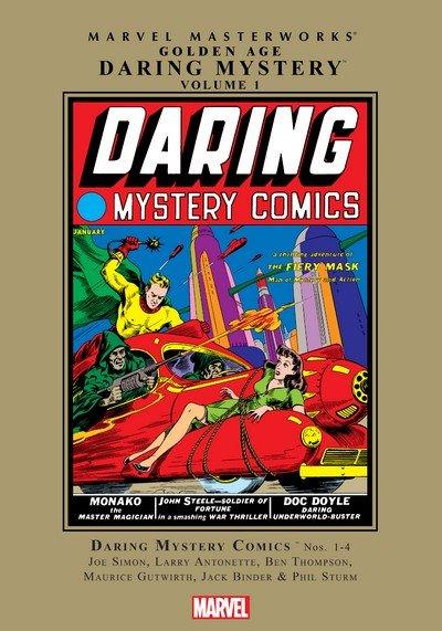 Marvel Masterworks – Golden Age Daring Mystery Vol. 1 – 2 (2008-2010)