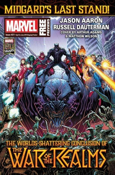 Marvel Previews #21 (April for June 2019)