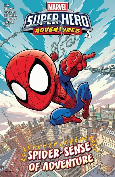 Marvel Super Hero Adventures – Spider-Man – Spider-Sense Of Adventure #1 (2019)