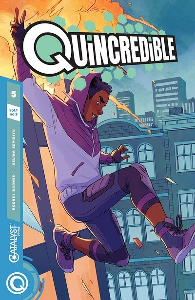 Quincredible #5 (2019)