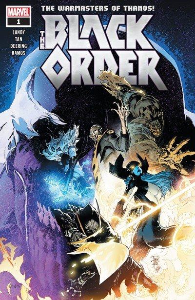 The Black Order #1 – 5 (2019)