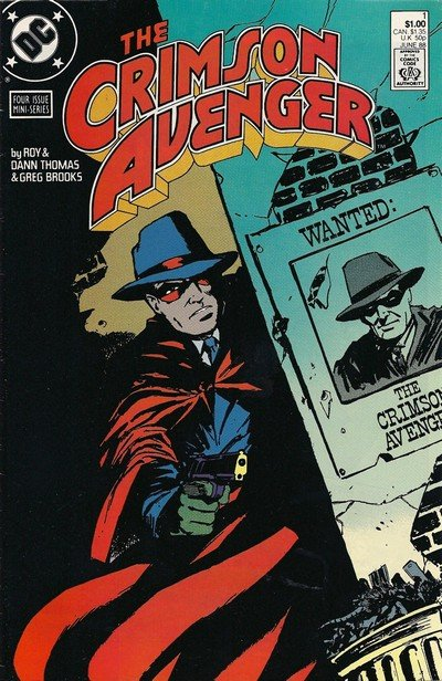 The Crimson Avenger #1 – 4 (1988)