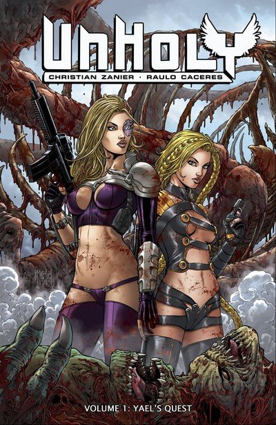 UnHoly Vol. 1 – Yaels Quest (TPB) (2017) (ADULT)