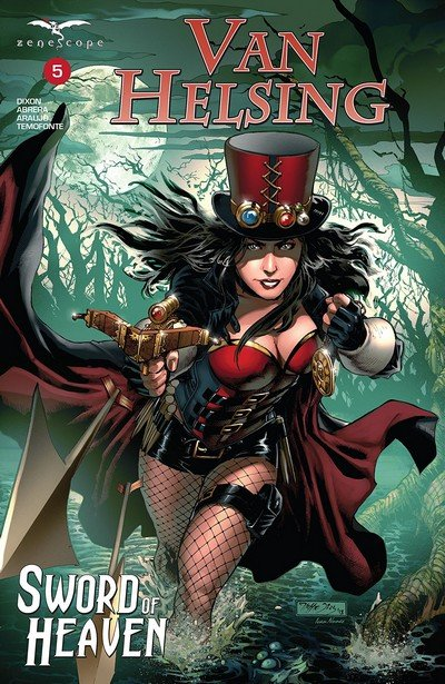 Van Helsing – Sword Of Heaven #5 (2019)