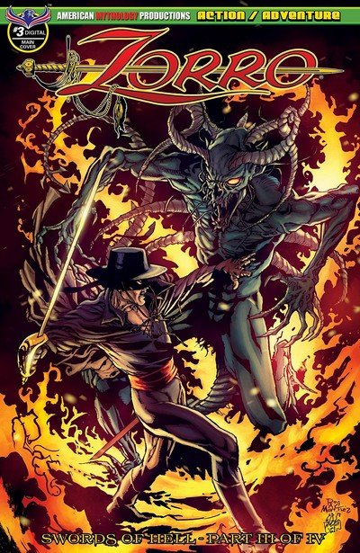 Zorro – Swords Of Hell #3 (2019)