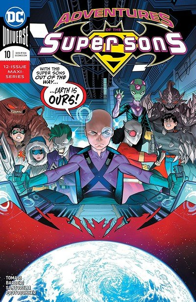Adventures Of The Super Sons #10 (2019)