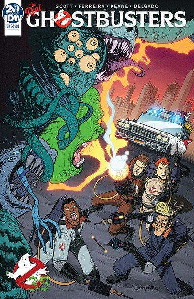 Ghostbusters – 35th Anniversary – Real Ghostbusters (2019)