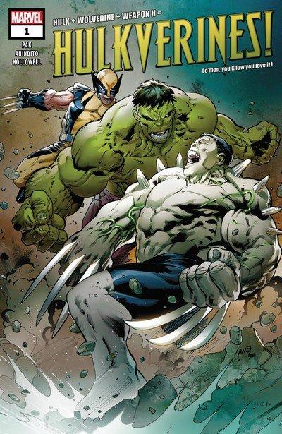 Hulkverines #1 – 3 (2019)