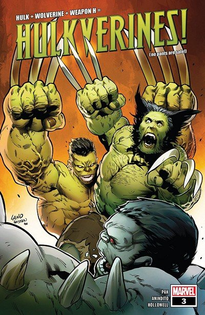 Hulkverines #3 (2019)