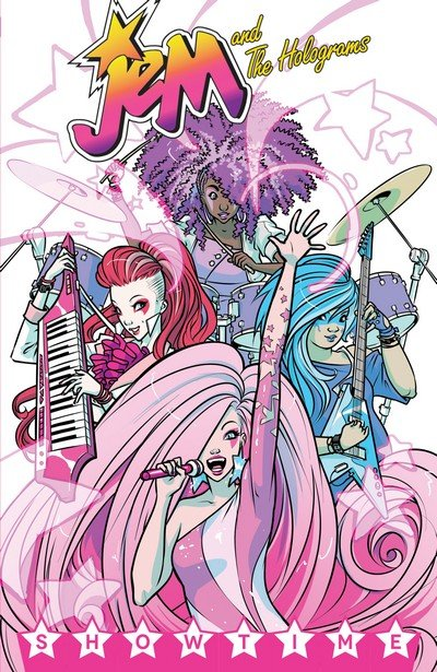 Jem and the Holograms Vol. 1 – 5 (TPB) (2015-2017)