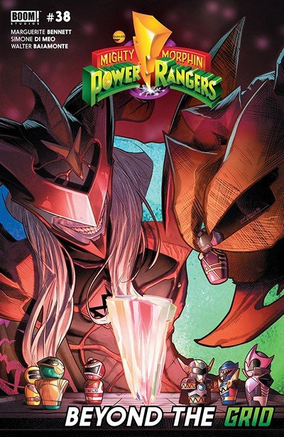 Mighty Morphin Power Rangers #38 (2019)