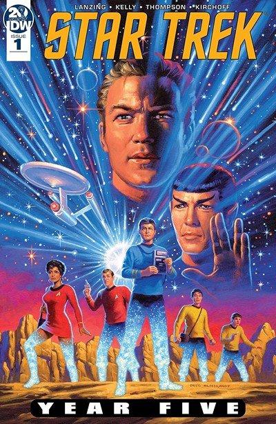 Star Trek – Year Five #1 (2019)