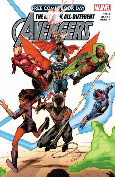 The All-New, All-Different Avengers (FCBD 2015)