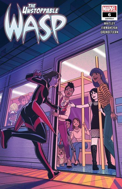The Unstoppable Wasp #6 (2019)