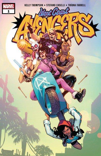 West Coast Avengers #1 – 10 (2018-2019)