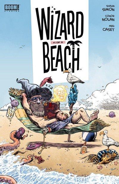 Wizard Beach #1 – 5 (2018-2019)