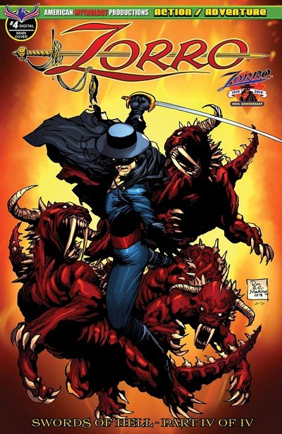 Zorro – Swords Of Hell #4 (2019)