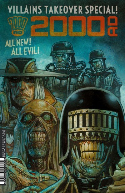 2000AD – Villains Takeover Special! (2019)