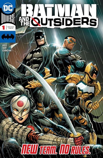 Batman And The Outsiders #1 (2019)