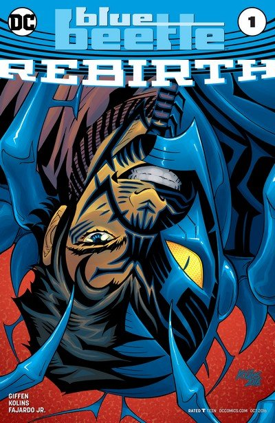 Blue Beetle – Rebirth #1 + 1 – 18 (2016-2018)