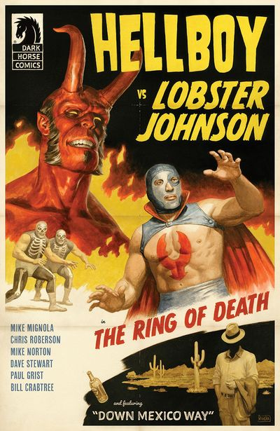 Hellboy Vs Lobster Johnson – The Ring Of Death #1 (2019)