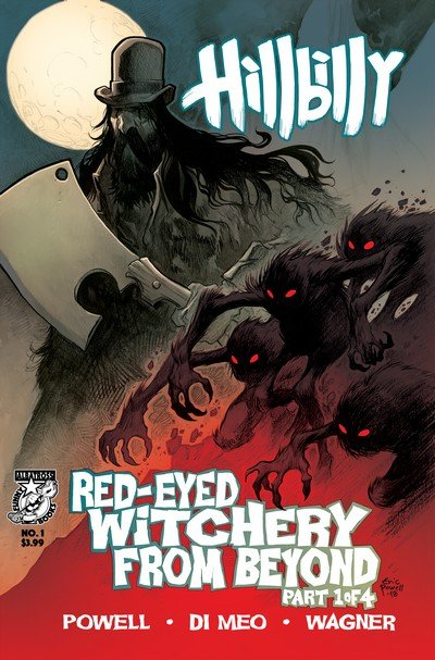 Hillbilly – Red-Eyed Witchery from Beyond #1 – 4 (2018-2019)