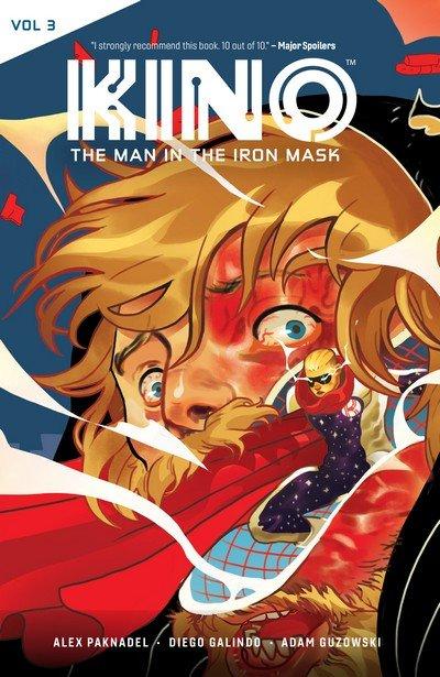 KINO Vol. 3 – The Man in the Iron Mask (TPB) (2019)