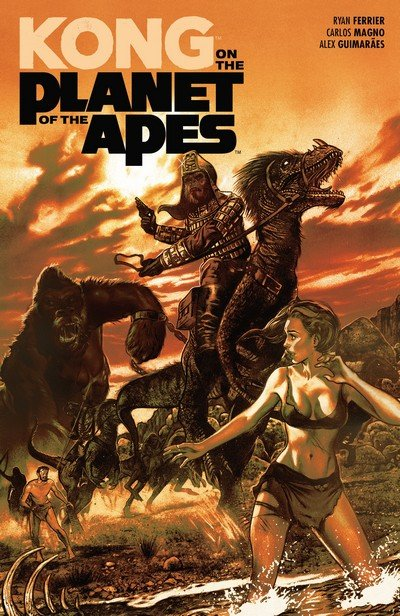 Kong on the Planet of the Apes (TPB) (2018)