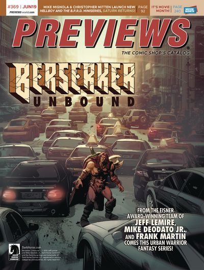 Previews #369 (June for Aug 2019)