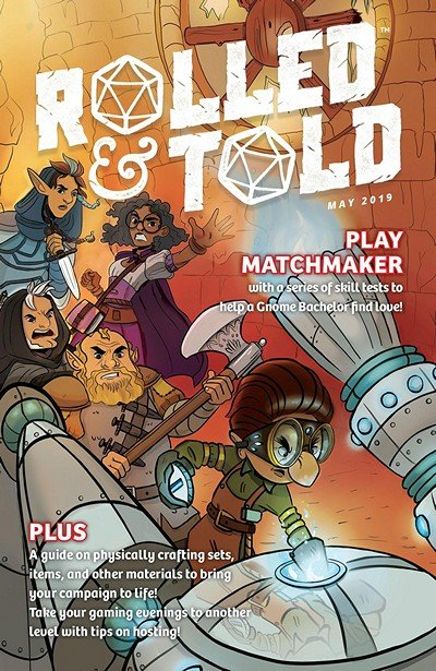 Rolled And Told #9 (2019)