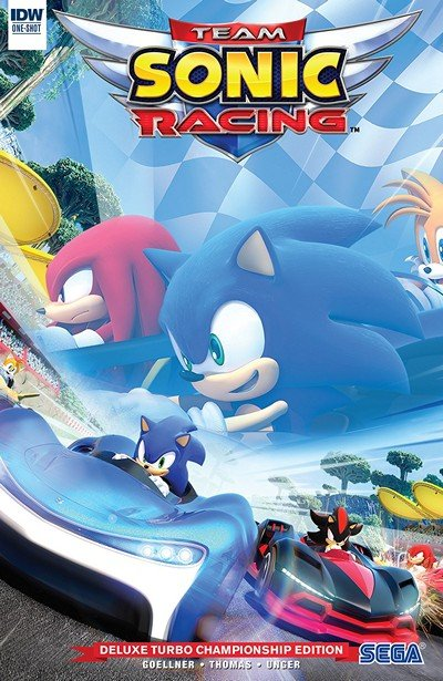 Team Sonic Racing Plus Deluxe Turbo Championship Edition (2019)