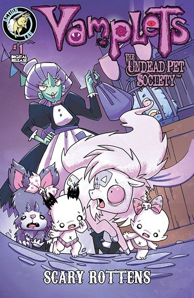 Vamplets – The Undead Pet Society #1 – 2 (2014)