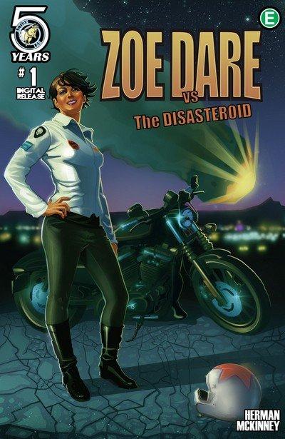 Zoe Dare vs The Disasteroid #1 – 4 + TPB (2016)