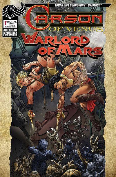 Carson Of Venus Warlord Of Mars #1 (2019)