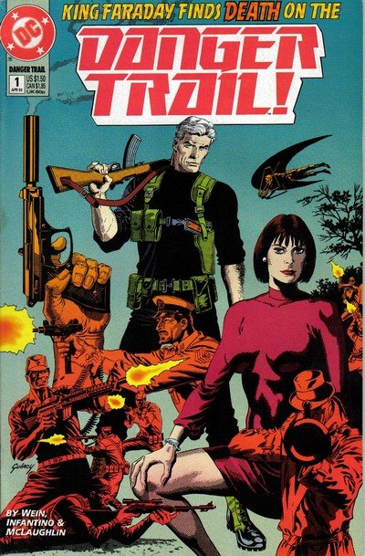 Danger Trail Vol. 2 #1 – 4 (1993)