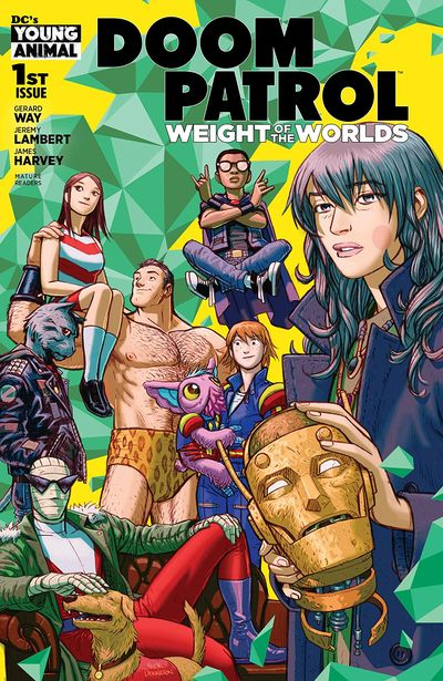 Doom Patrol – The Weight Of The Worlds #1 (2019)
