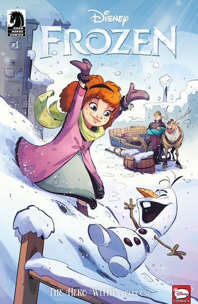 Frozen – The Hero Within #1 (2019)