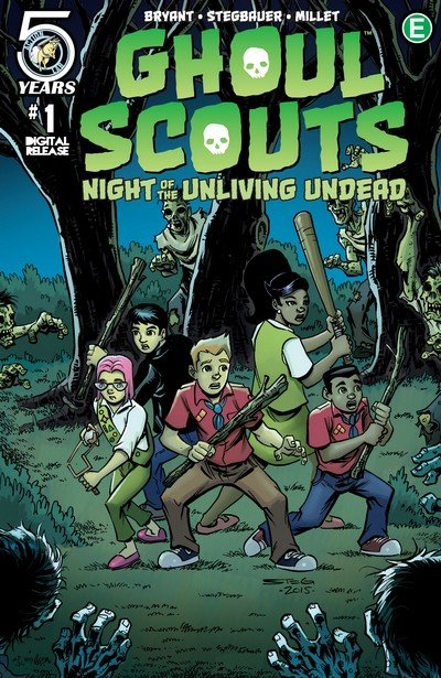 Ghoul Scouts – Night of the Unliving Undead #1 – 4 (2016)