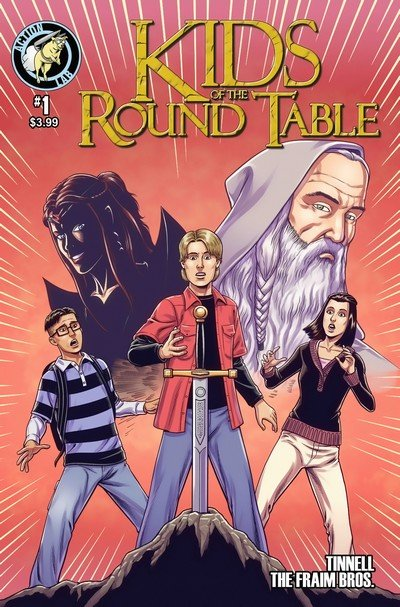 Kids of the Round Table #1 – 4 + TPB (2015)