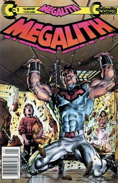 Megalith Vol. 1 #1 – 9 (1989-1992)