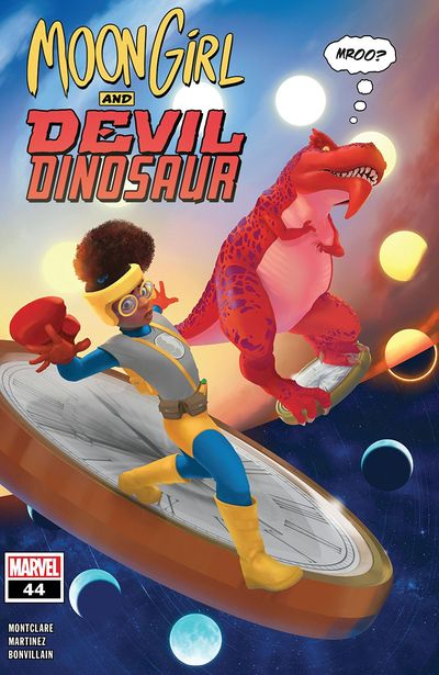 Moon Girl And Devil Dinosaur #44 (2019)